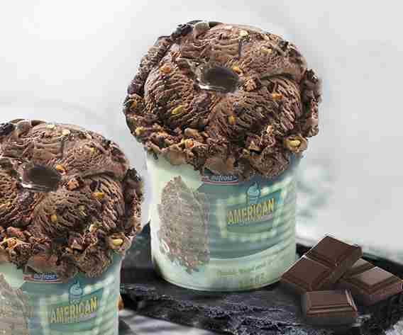Helados/Tarrinas Big American Ice Cream Brownie & Chocolate bofrost
